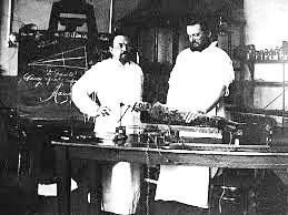 А.А.Ухтомский в лаборатории