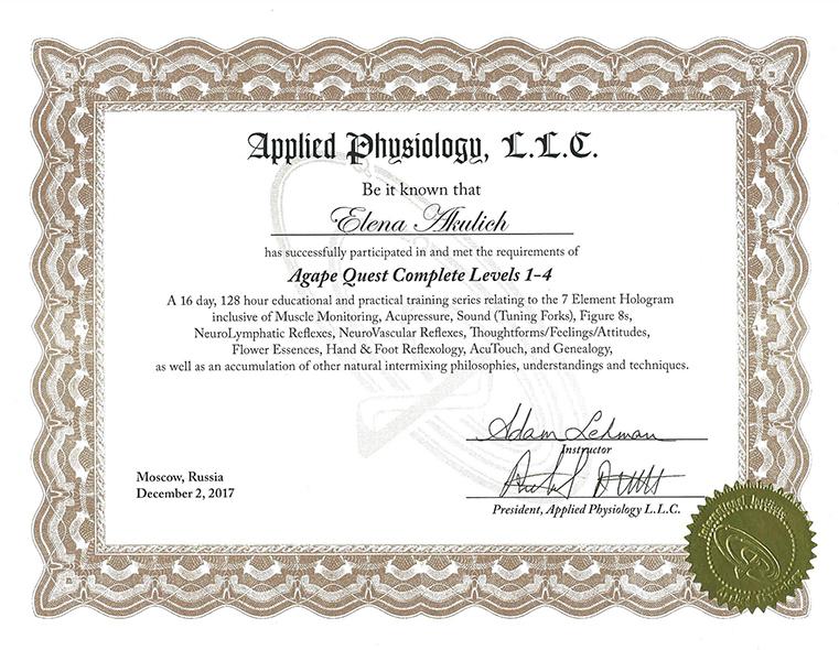 Applied Phusiologu, Прикладная Физиология